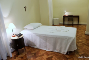 The simple and basic accommodations of the  leader of the Catholic Church. Photo from InterMirifica.net.